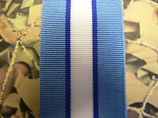 Full Size Medal Ribbon - United Nations Cyprus UNFICYP UN