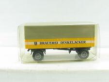 """Brekina Planenanhänger 2achsig """"Brauerei Dinkelacker"""" OVP (R8283)"""