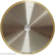 """4"""" x .014"""" Supreme Sintered Continuous Rim Diamond Lapidary Blade - 5/8"""" Arbor"""