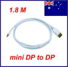 1.8M / 6FT Mini-DisplayPort to DisplayPort For MacBook Pro Air Male to Male AU