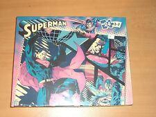 "2005 MATTEL DC SUPERMAN 24 PCS PUZZLE 10""x13"" MIB SEALED"