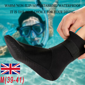 3MM Neoprene Diving Socks Wetsuit Socks Diving Kayak Sports Waterproof Warm Sock