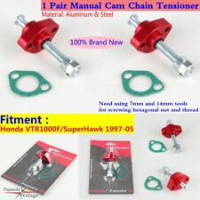 1 Pair Motorcycle Manual Timing Cam Chain Tensioner For Honda VTR1000F 97-05 New