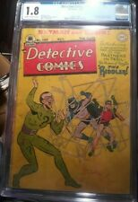 Detective Comics #140 CGC 1.8 CR/OW KEY *Origin & 1st Appearance of The Riddler*