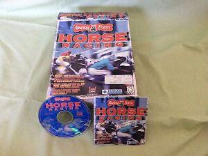 Racing Form Horse Racing PC Computer Software Rare!