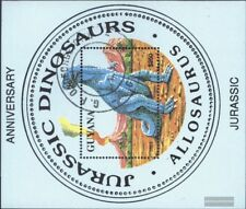 Guyana Block278 (kompl.Ausg.) gestempelt 1993 Rezente und extinkte Fauna