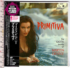 Martin Denny , Primitiva ( CD Mini LP Sleeve Reissue )