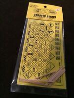 HO Scale Traffic Signs Kit (1949-2000) - Blair Line #110