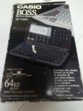 CASIO B.O.S.S. SF-5300 X Business Organizer Scheduling System 64 Digital