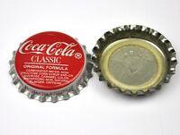 Vintage Coca Cola Coke Clásico Tapa de Botella EE.UU. Soda botella Cap