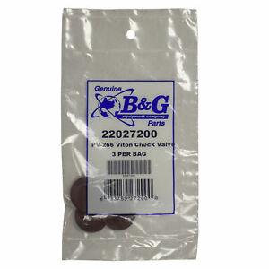 B&G Sprayer Part - Check Valve - Part PV-266 (Pack of 3)
