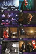 Doctor Who Topps Extraterrestrial Encounters 8 purple pararell cards all listed
