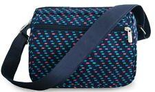 Women Polka Dot Messenger Bags Stylish Cross Body Nylon Handbags Travel Purse
