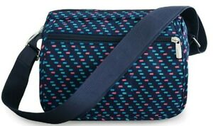 Frauen Tupfen Messenger Taschen stilvolle Cross Body Nylon Handtaschen Reise Geldbörse