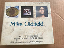 Mike Oldfield Picture Disc Collection Collectors' Edition 3 cd RARE