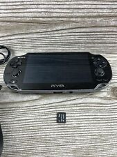 Sony PlayStation PCH-1001 PS Vita System w/ Charger & 4GB Card - Tested