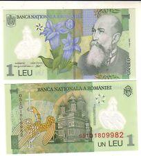 Romania 1 nuovo lei 2005 FDS UNC  pick 117  lotto 2408