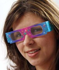 4th of July -FIREWORKS -Diffraction GLASSES- Folded 50 PAIRS -Sleeved for safety