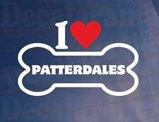 « J'aime/Coeur Patterdales » Fantaisie Os Voiture/Sticker Camion Idéal pour