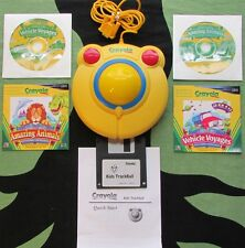 Crayola Ctb600 Children's Trackball-1999-With Box-Great Shape-Software Included