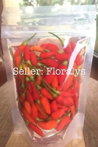 GUAM Hot Boonie Peppers Whole Organic Pepper 5 ounces in Resealable Fridge Bag