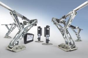 Wohnwagen Levelsystem levelC E&P AL-KO Hydraulik Stützen SET + Einbau GÖPPINGEN