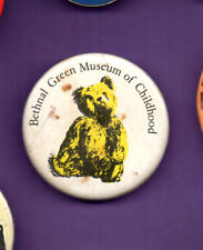 Bethnal Green Museum of Childhood  - Button  badge 1980's