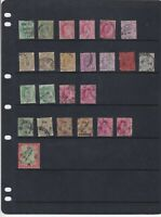 India Stamps Page  Ref 33199