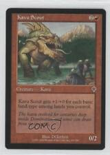 2000 Magic: The Gathering - Invasion Booster Pack Base #151 Kavu Scout Card q0l