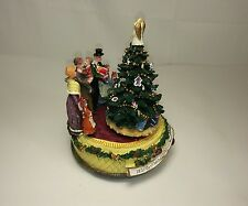 Christmas Musical Wind Up Christmas Holiday Tree Decoration