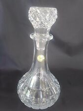 Vintage 24% Lead Crystal Decanter French