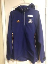 Adidas ECU PIRATES Purple Jacket HOODIE Climalite Men's SZ Medium NWT