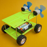 Science Physics Circuit Experiment DIY Wind Powered Car Toy Science Explore