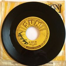 45 Sun 313   Billy Riley   No Name Girl VG+ autographed