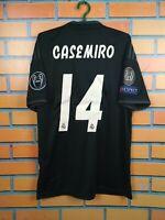 Casemiro Real Madrid Jersey 2018 2019 Away M Shirt Adidas Football CG0584