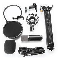 Professional Condenser Microphone Mic Studio Sound Recording Arm Stand Set PRO