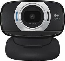 **Logitech HD Webcam C615 Portable Webcam HD NEW IN BOX free Shipping**