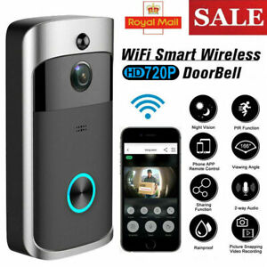Wireless Smart Doorbell WiFi Ring Security Intercom Video Camera Bell Intercom