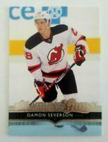Damon Severson 2014-15 Upper Deck Hockey Young Guns Rookie RC #232 Jersey Devils