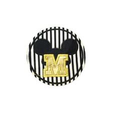 Letter M for Mickey Mouse (Iron On) Embroidery Applique Patch Sew Iron Badge