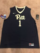 � Nike Dri-Fit Pitt Ncaa Basketball Team Jersey, Men's 2Xl Msrp $75�