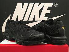 DS 2020 Nike Air Max Plus og UK10.5 EU45.5 Triple Negro sintonizado 1 Tn BW 95 98 Rara