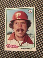 1978 Topps Mike Schmidt Philadelphia Phillies #360 Baseball Card
