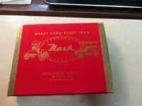 1952 NASH CARS  2 Decks of Playing Cards w Box Sealed KIESOW NASH CEDARBURG Wi
