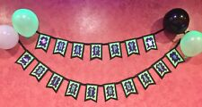 Ghostbusters Birthday banner/ Happy Birthday/ party supplies/ Decor