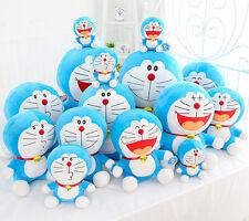 "Cute 25cm 10"" Cute Plush Toy Soft Laugh Style Doraemon Doll Stuffed Animal Gift"