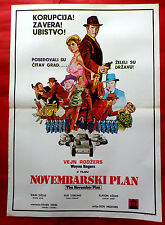 NOVEMBER PLAN 1977 WAYNE ROGERS  ELAINE JOYCE PHILIP STERLING EXYU MOVIE POSTER