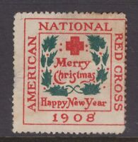 USA 1908 Red Cross cinderella