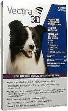 Vectra 3D Flea & Tick Remedies for Medium Dogs and Puppies - 6 Doses, Blue