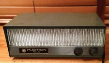 Plectron Patrol Single Channel FM Monitor Radio Vintage 1963 VG++